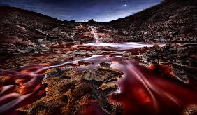 Last Lights in Rio Tinto III (Red River)