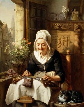 The Old Lacemaker 1844