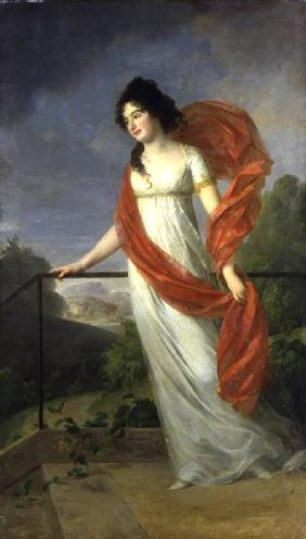 Portrait of Countess Theresia Fries (1779-1819) 1801