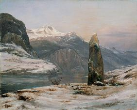 Winter am Sognefjord 1827