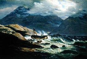 Shipwreck on the Norwegian Coast 1831