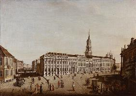 View of Castle Street and the Fiaker Square, Potsdam
