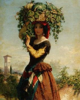 An Italian Fruit Seller