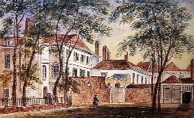 View of the House and Museum of the Late Duchess of Portland (1715-1785) 1796