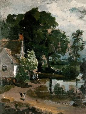 Willy Lott's House, near Flatford Mill c.1811