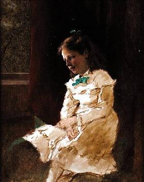 A Young Girl by the Window 1868