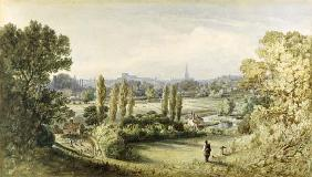 Norwich from Crown Point 1868  on