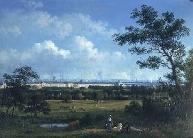 A View of Regent's Park and the Colosseum from Primrose Hill 1832