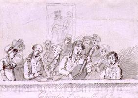 Choristers, St. Mary's Church c.1812  &