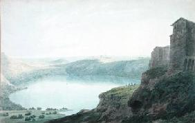 Lake Nemi 1780  on
