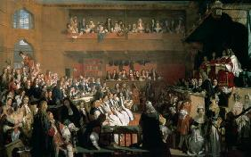 The Trial of the Seven Bishops in the House of Commons during the Reign of James II 1823