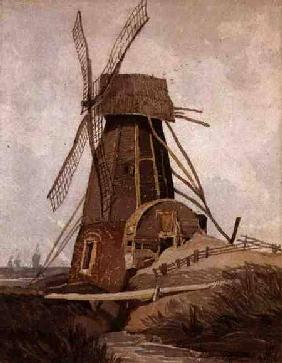 Draining Mill in Lincolnshire 1807-08  a