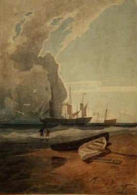 'The Mars', Riding at Anchor off Cromer c.1807