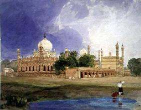 The Palace of the Hyder Ali Khan, Rajah of Mysore c.1825  &