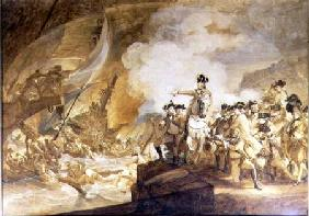 The Siege and Relief of Gibraltar, 14th September 1782 c.1783