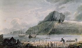 A view of Christmas Harbour in Kerguelen's Land 1781-4