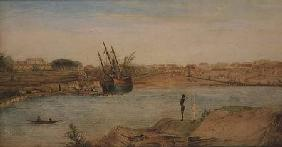 Sydney Cove, head of the cove 1808