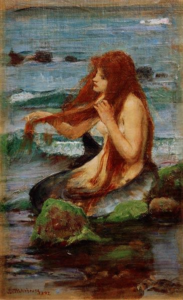 A Mermaid, 1892