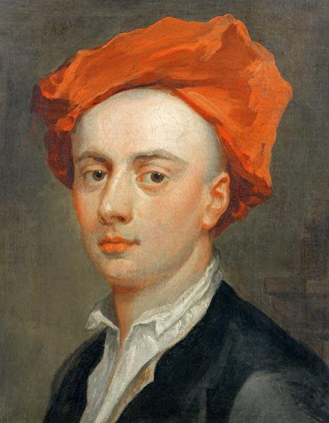 Portrait of John Gay (1685-1732), author of The Beggar's Opera