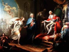 Godoy Presenting Peace to Charles IV 1796