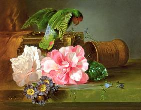Still Life with Parrot 1879
