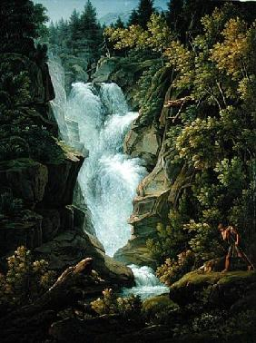 Waterfall in the Bern Highlands 1796