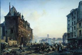 Attack on the Hotel de Ville 28th July