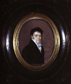 Portrait Miniature of a Gentleman 1811