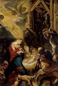 Kunstdruck von Joseph Heintz d.Ä. - Die Anbetung der Hirten
