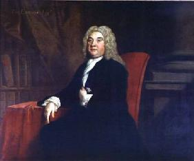 Portrait of Thomas Emerson (d.1745), a Governor of the Foundling Hospital 1731