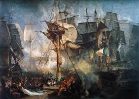 William Turner - Die Schlacht bei Trafalgar