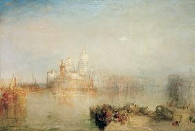 William Turner - Dogana und S. Maria della Salute, Venedig