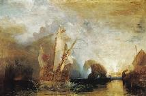 William Turner - Odysseus verspottet Polyphem