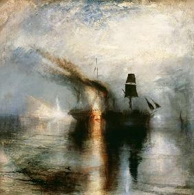 William Turner - Frieden Bestattung auf See