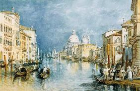 William Turner - Venedig, Canale Grande