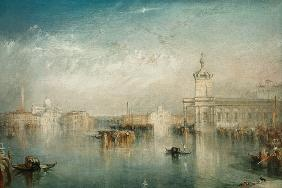William Turner - Die Dogana San Giorgio Citella