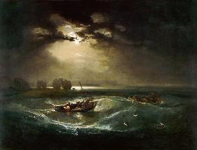 William Turner - Fischer auf See