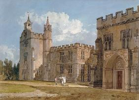 The Bishop's Palace, Salisbury c.1795  on