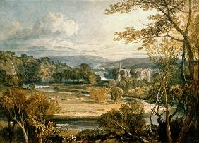 William Turner - Blick zur Bolton Abbey, Wharfedale
