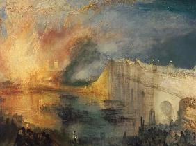 William Turner - Der Brand des House of Parliament