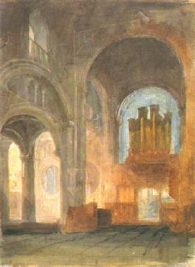 Innenansicht der Christ Church Cathedrale 1798