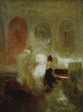 William Turner - Musik in East Cowes Castle