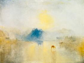 William Turner - Norham Castle bei Sonnenaufgang