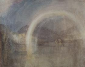 Rainbow Over Loch Awe c.1831 cil