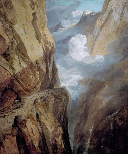 William Turner, Der St. Gotthard-Pass
