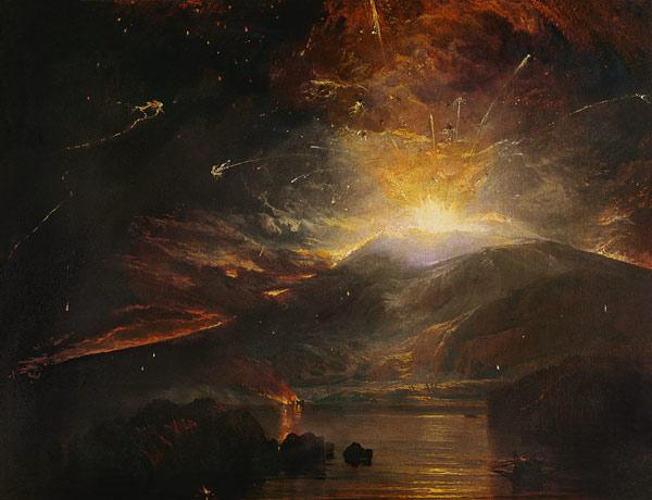 The Eruption of the Soufriere Mountains in the Island of St. Vincent 1812