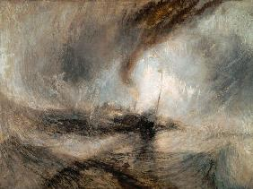 William Turner - Schneesturm �ber dem Meer