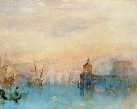 William Turner - Venedig mit erster Mondsichel