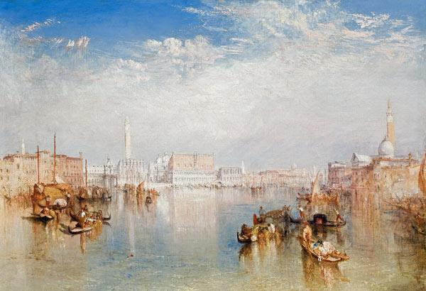 View of Venice: The Ducal Palace, Dogana and Part of San Giorgio 1841