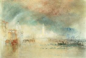 William Turner - View of Venice from La Giudecca